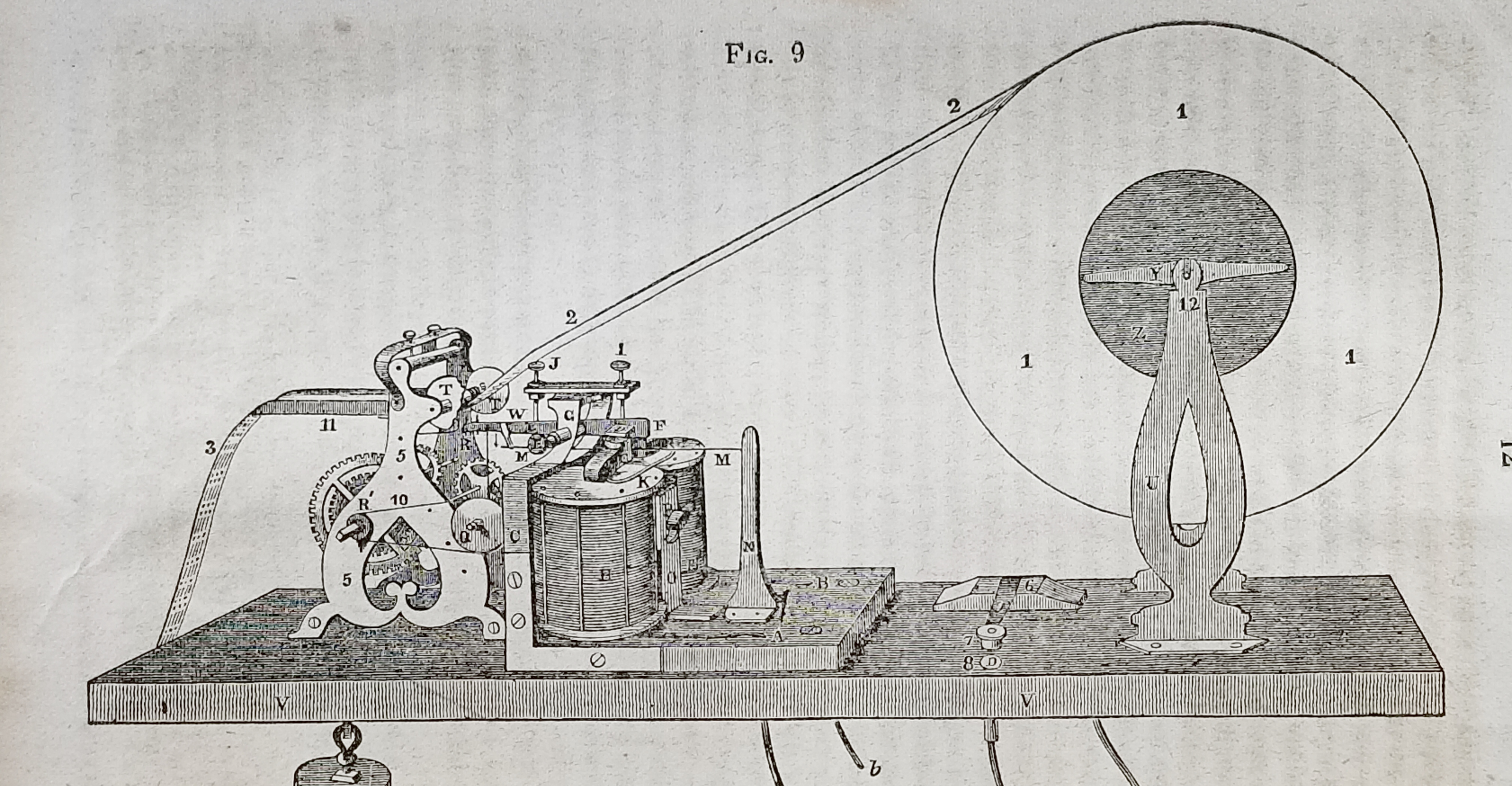 Description of the American Electro Magnetic Telegraph: Now in Operation