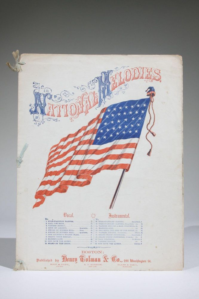The Star Spangled Banner. Francis Scott Key, An Additional, O. W. Holmes.