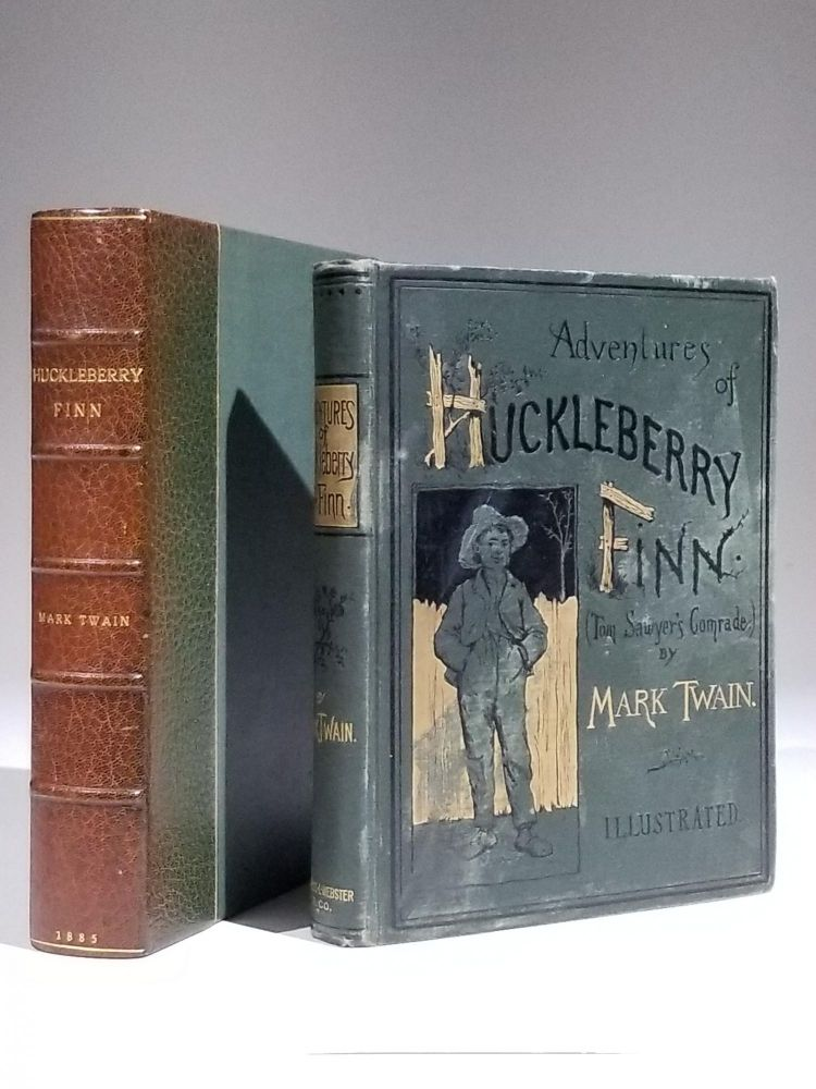 Adventures of Huckleberry Finn (Tom Sawyer's Comrade). Literature, Mark Twain, Samuel L. Clemens.