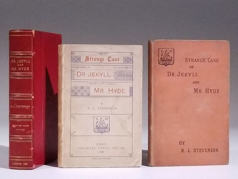 Strange Case of Dr. Jekyll and Mr Hyde [both cloth and paper issues]. Robert Louis Stevenson.