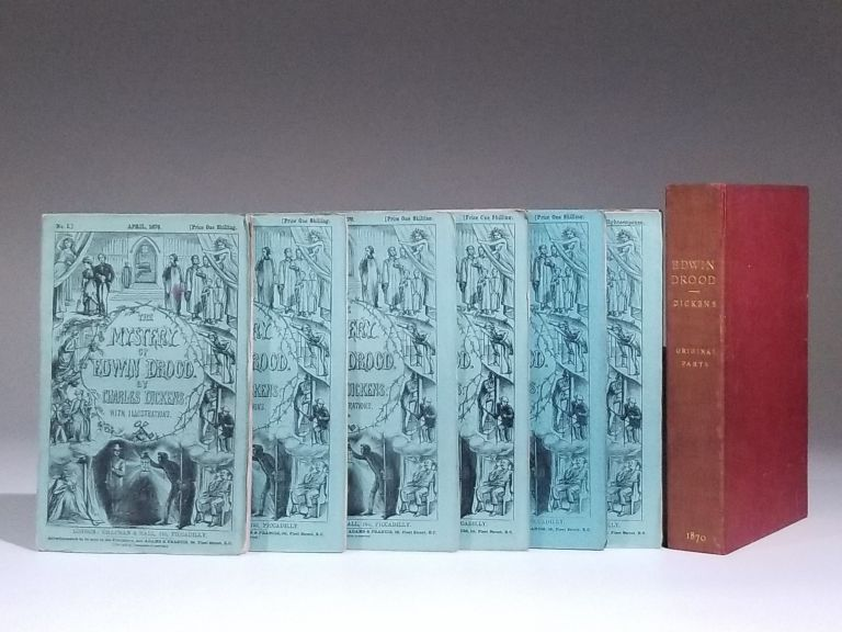 The Mystery of Edwin Drood [in six parts, as issued]. Charles Dickens.