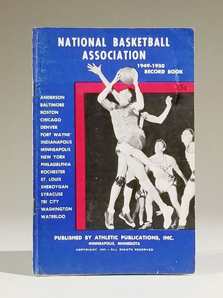 National Basketball Association 1949-1950 Record Book. Press, Radio and Television Brochure. Sports, National Basketball Association.