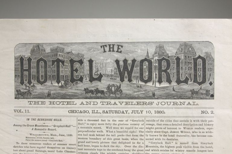 The Hotel World: The Hotel and Travelers' Journal, Vol. II, No. 2, Saturday, July 10, 1880. Hospitality.