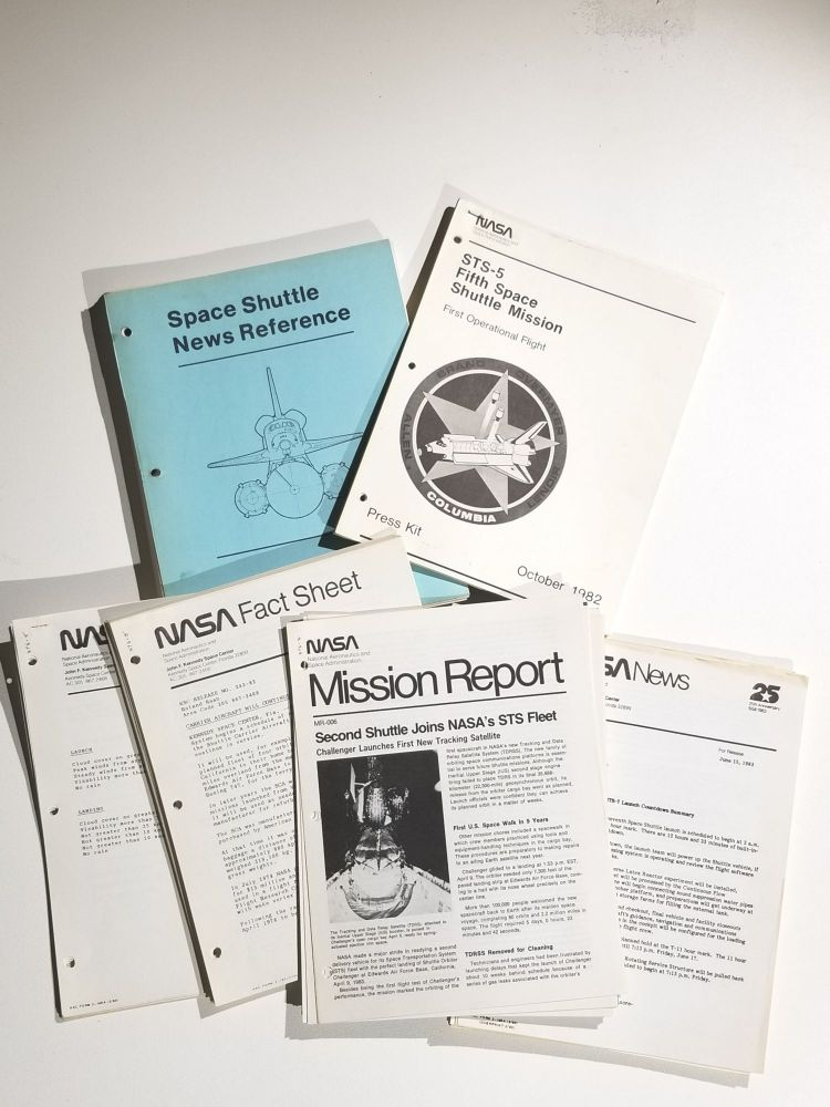 Archive of Press Kits, Fact Sheets, Mission Reports and Other Press Materials Related to the Space Shuttle Program. NASA.