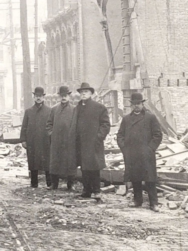 Ruins of Baltimore Fire, Feb. 11th, 1904. Baltimore Fire.