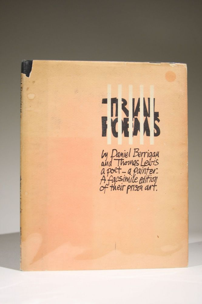 Trial Poems (Signed twice, with an original drawing by Lewis). Daniel Berrigan, Thomas Lewis.