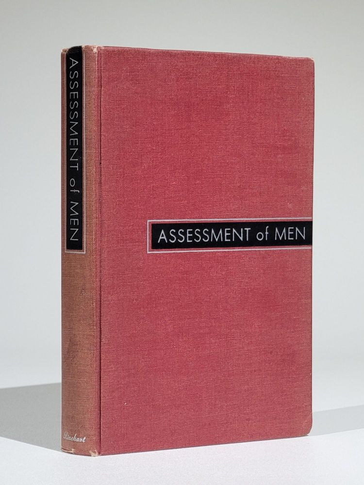 Assessment of Men: Selection of Personnel for the Office of Strategic Services. OSS Assessment Staff.