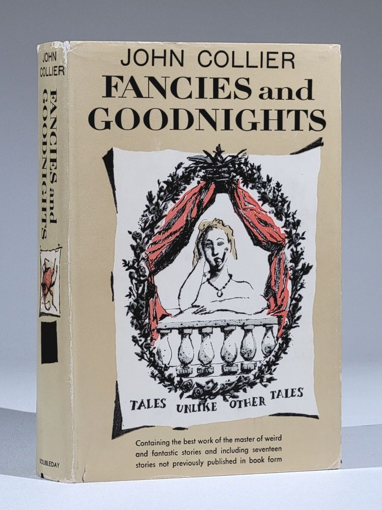 Fancies and Goodnights (with typed letter, SIGNED, publisher's announcement, etc.). John Collier.