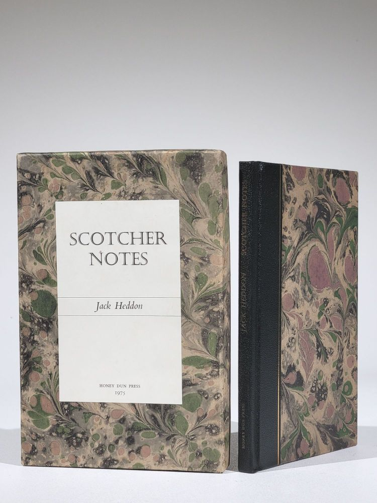 """Scotcher Notes: Bibliographical, Biographical and Historical Notes to George Scotcher's """"Fly Fisher's Legacy..."""", Circa 1810; with Comments on the Fly-Dressings. Jack Heddon."""
