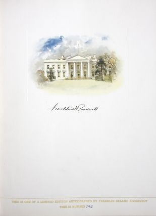 The Democratic Book 1936 (Signed by FDR)