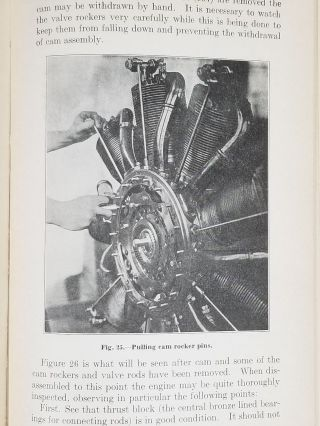 Instructions for 80-Horsepower Le Rhone Engine
