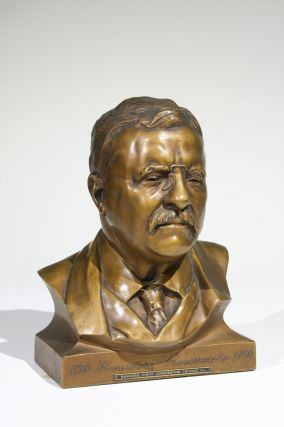 Bust of Theodore Roosevelt. Theodore Roosevelt