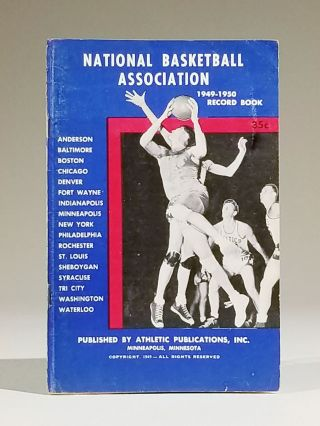National Basketball Association 1949-1950 Record Book. Press, Radio and Television Brochure