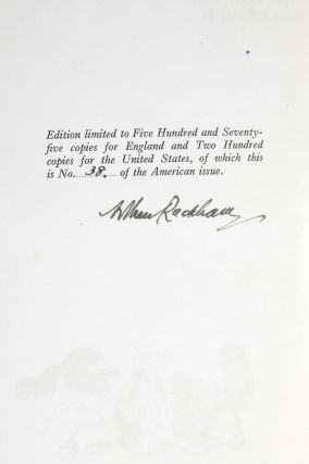The Vicar of Wakefield (Signed by Rackham)