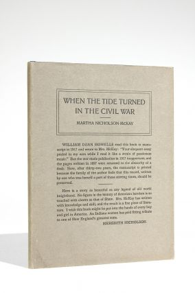 When the Tide Turned in the Civil War. Martha Nicholson McKay