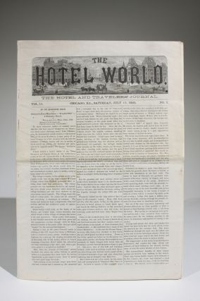 The Hotel World: The Hotel and Travelers' Journal, Vol. II, No. 2, Saturday, July 10, 1880
