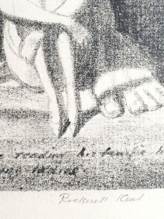 Unser Kent (signed twice by Rockwell Kent, TLS by Peirce laid in)