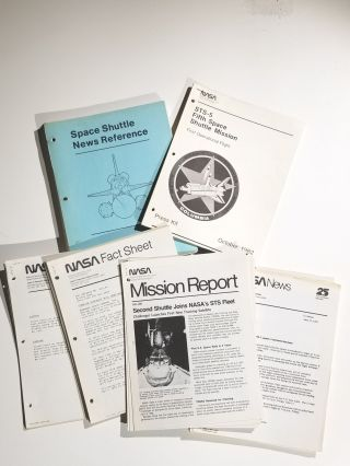Archive of Press Kits, Fact Sheets, Mission Reports and Other Press Materials Related to the...