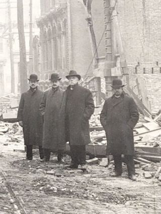 Ruins of Baltimore Fire, Feb. 11th, 1904. Baltimore Fire