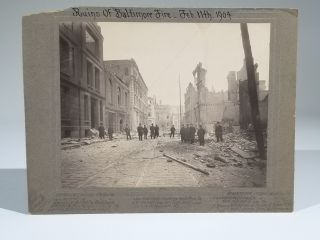 Ruins of Baltimore Fire, Feb. 11th, 1904