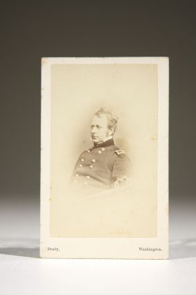 CDV Photographic Portrait, Signed. Joseph Hooker