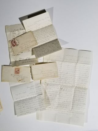 Archive of Letters Between a Maryland Wife and Her Surgeon Husband with the 6th Maryland Volunteer Regiment at Camp Parole, Annapolis
