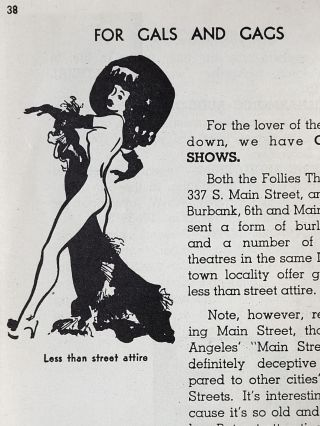 Sinning in Hollywood, Los Angeles, and the Beaches