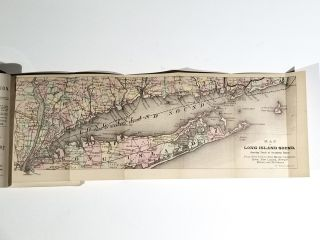 New-York to Boston via Long Island Sound. Steamboats and Connecting Railroads, with Descriptive Sketches of Cities, Villages, Stations, Scenery and Objects of Interest Along the Routes