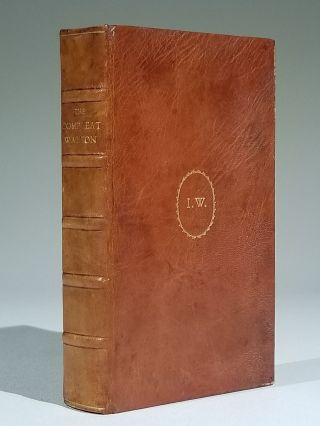 The Compleat Angler, The Lives of Donne, Wotton, Hooker, Herbert & Sanderson; with Love and...