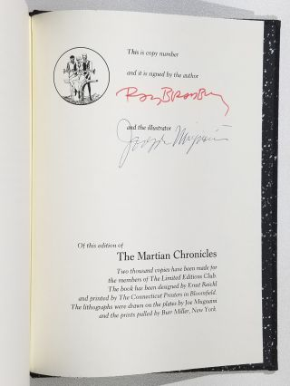 The Martian Chronicles (Signed)
