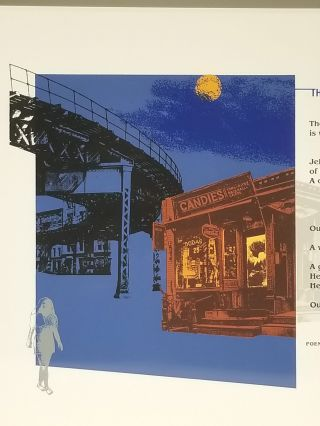 The Pennycandystore Beyond the El (Signed). Lawrence Ferlinghetti