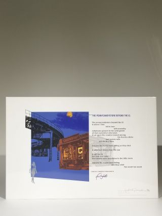 The Pennycandystore Beyond the El (Signed)