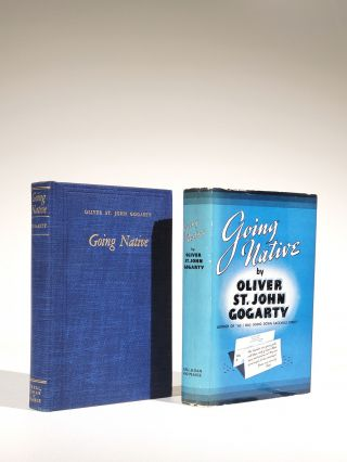 Going Native (Signed). Oliver St. John Gogarty