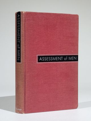 Assessment of Men: Selection of Personnel for the Office of Strategic Services. OSS Assessment Staff