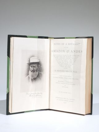 Notes of a Botanist on the Amazon and Andes: Being Records of Travel on the Amazon and Its Tributaries...