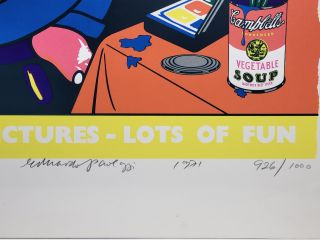 """Lots of Pictures - Lots of Fun (original title """"Pop Art Redefined"""")"""