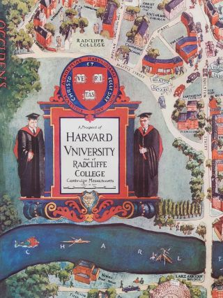 A Prospect of Harvard University and of Radcliffe College, Cambridge, Massachusetts
