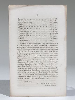 Sanitary Commission No. 68. Preliminary Report of the Operations of the Sanitary Commission with the Army of the Potomac, During the Campaign of June and July, 1863