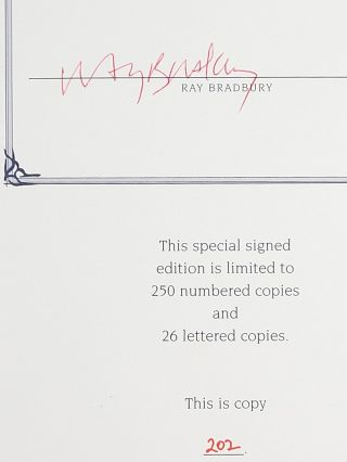 I Sing the Body Electric, and Other Stories (Signed)